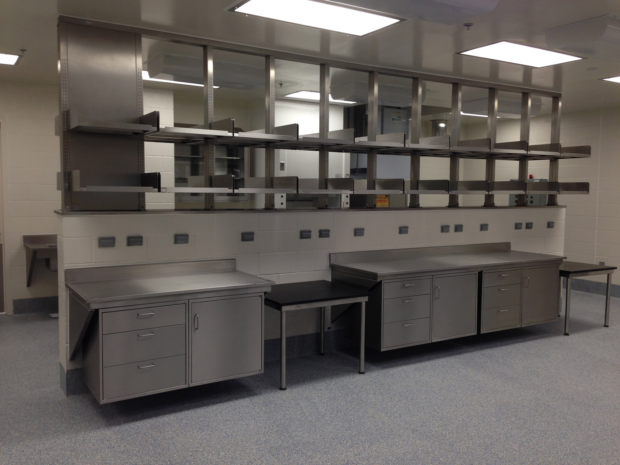 Casework - Inset Stainless Steel